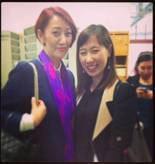 With Mrs. Wu Hong, Founder and CEO of New Alliance Consulting