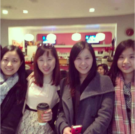 With two other UBC students and a MIT student